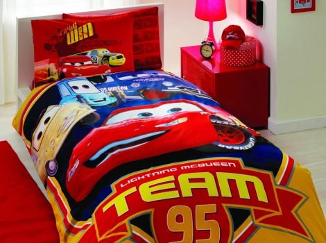 КПБ ТАС/RANFORCE детский (3-12)/Disney 1,5 сп. (CARS CHAMPION TEAM)