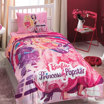 КПБ ТАС/RANFORCE детский (3-12)/Barbie 1,5 сп. (BARBIE PRINCESS POPSTAR)