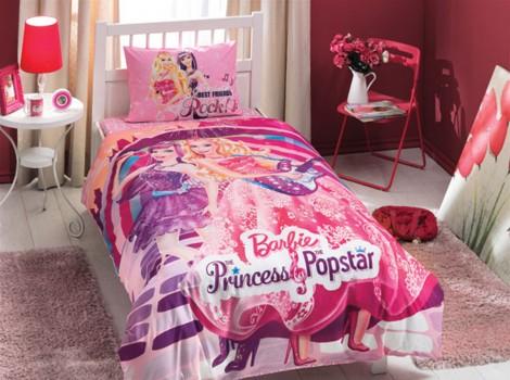 КПБ ТАС/RANFORCE детский (3-12)/Barbie 1,5 сп. (BARBIE PRINCESS POPSTAR)
