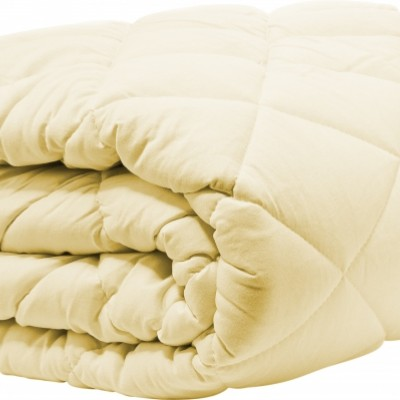 """Одеяло TAC/Силиконизированное волокно/1,5 сп./""""Light"""", 140x205 (желтый, 300 gr/m2)"""